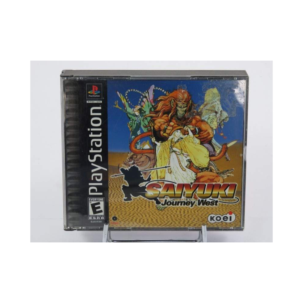 SAIYUKI JOURNEY WEST PS1 NTSC-USA OCCASION