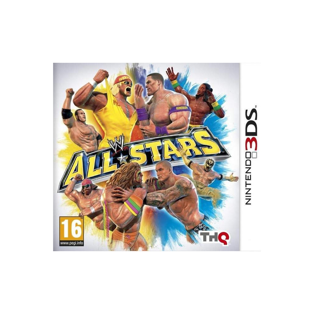 WWE ALL STARS 3DS FR OCCASION