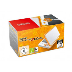 CONSOLE NEW NINTENDO 2DS XL BLANC + ORANGE EURO OCCASION