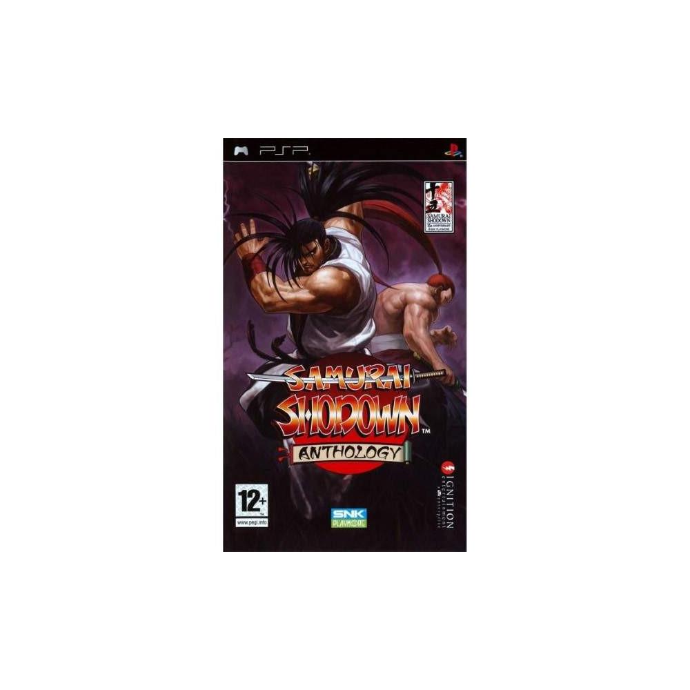 SAMURAI SHODOWN ANTHOLOGY PSP FR OCCASION