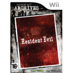 RESIDENT EVIL ARCHIVES WII PAL-FR OCCASION