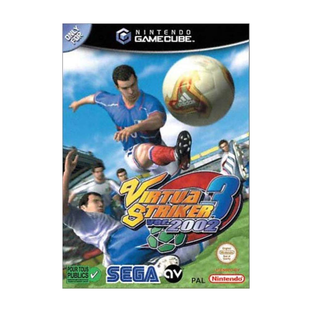 VIRTUA STRIKER 3 VER- 2002 GAMECUBE PAL-FR OCCASION