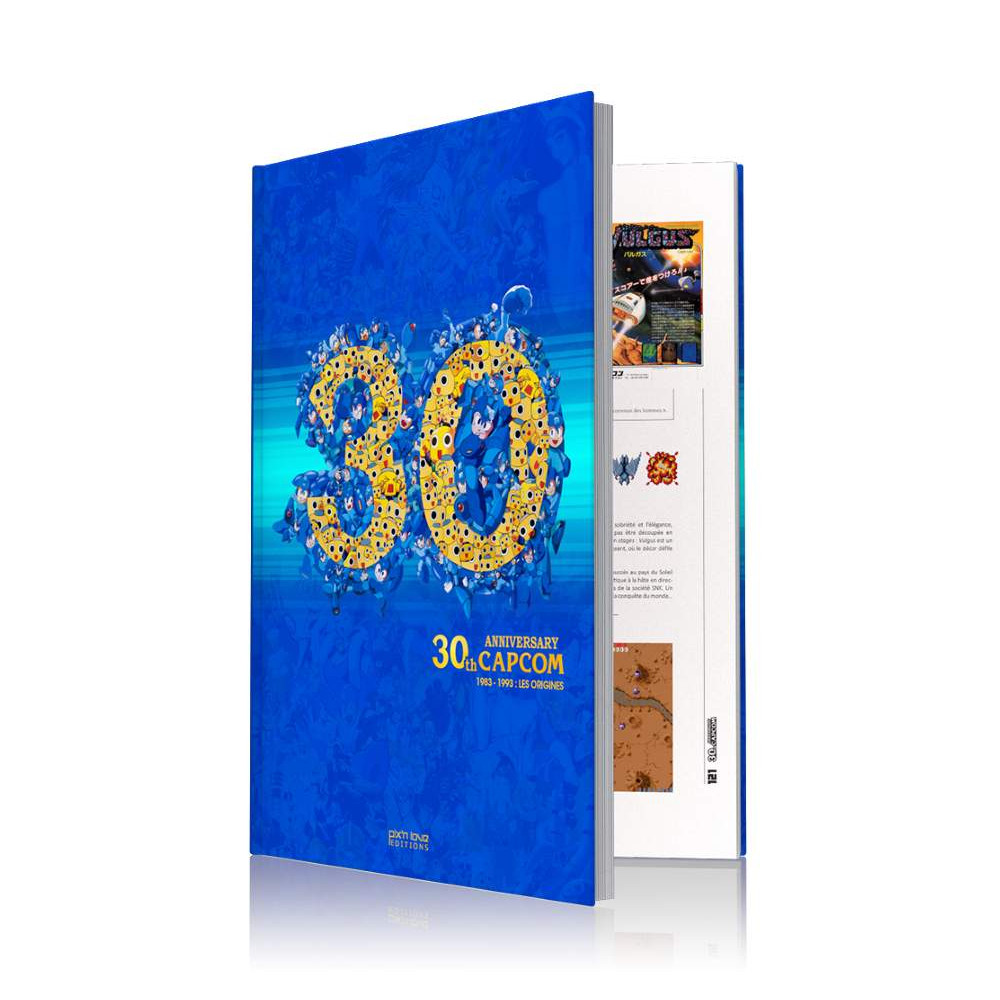 LIVRE 30TH CAPCOM ANNIVERSARY: LES ORIGINES