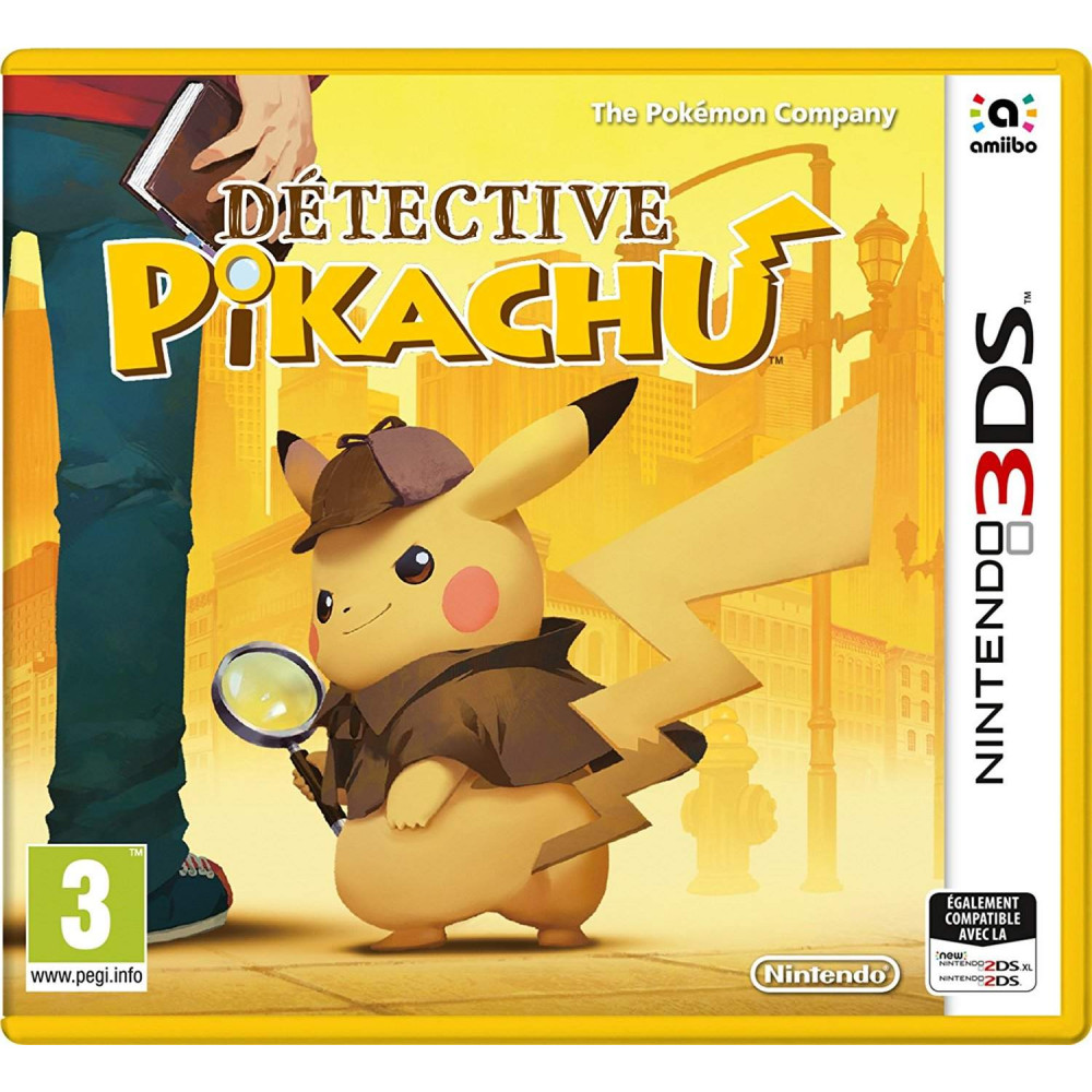 DETECTIVE PIKACHU 3DS UK NEW