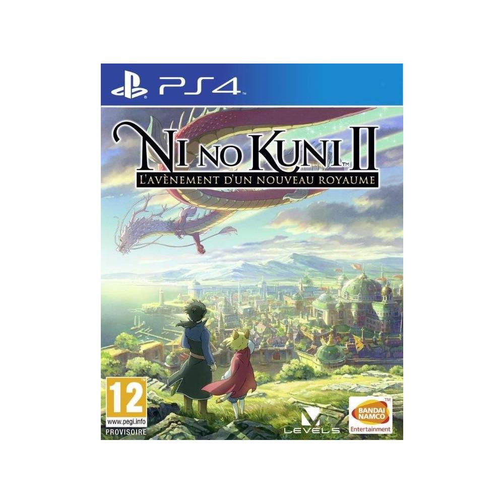 NI NO KUNI 2 REVENANT KINGDOM PS4 UK NEW