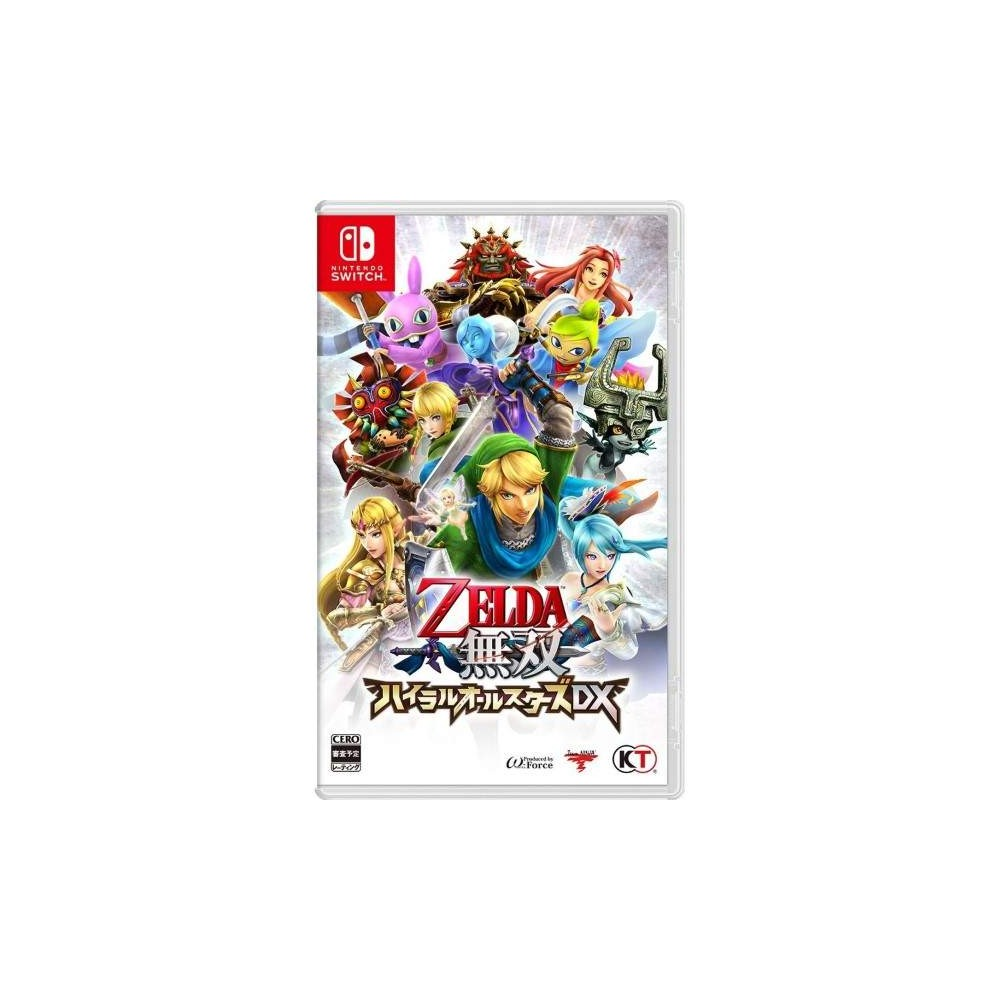 ZELDA MUSOU HYRULE ALL STARS DX SWITCH JAP NEW