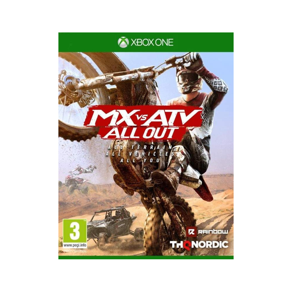 MX VS ATV ALL OUT XBOX ONE FR NEW