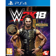 WWE 2K18 WRESTLEMANIA EDITION PS4 EURO FR NEW