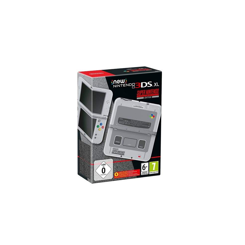 CONSOLE NEW 3DS XL SUPER NINTENDO EDITION EURO FR OCCASION