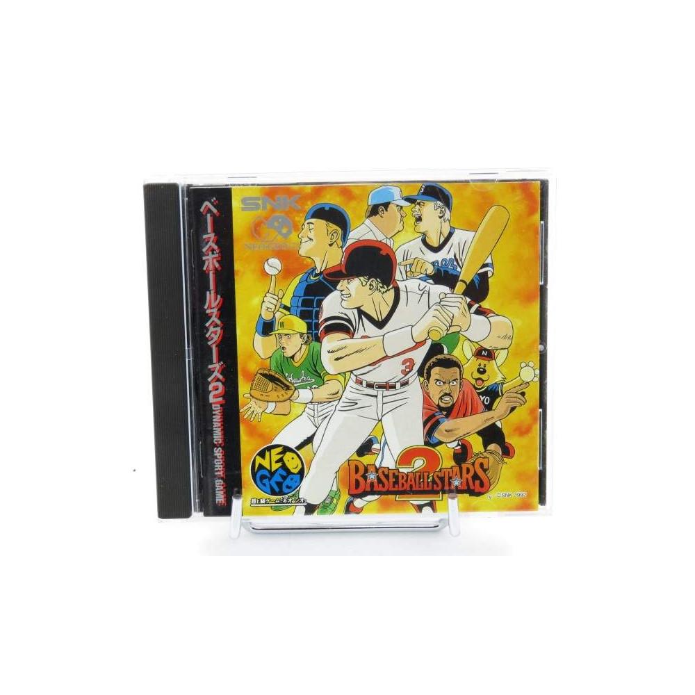 BASEBALL STARS 2 NEO GEO CD JPN OCCASION