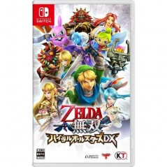 ZELDA MUSOU HYRULE ALL STARS DX SWITCH JAP OCCASION
