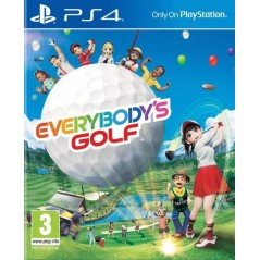 EVERYBODY S GOLF PS4 UK OCCASION