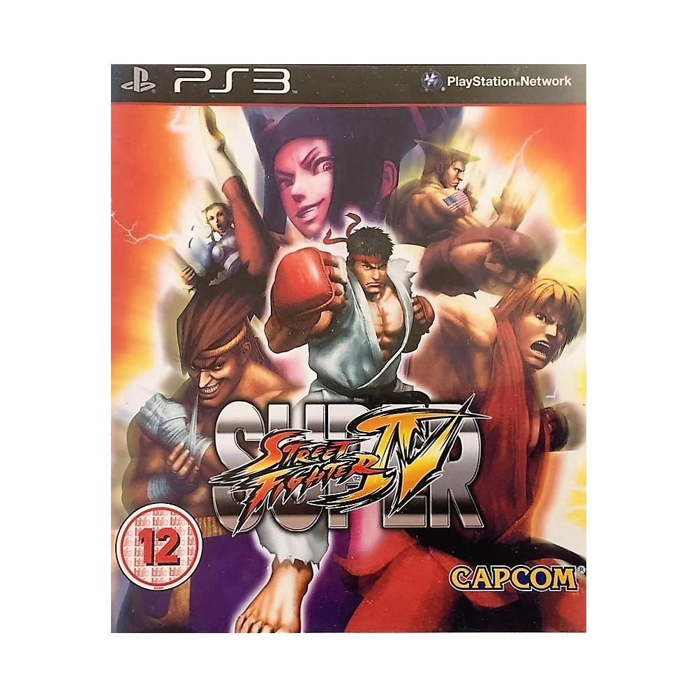 SUPER STREET FIGHTER 4 PS3 UK NEW