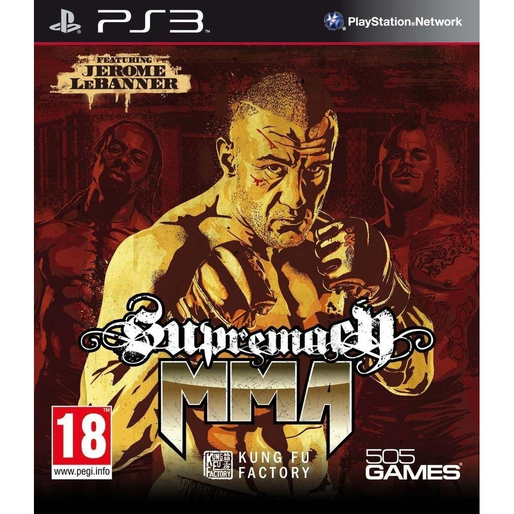 SUPREMACY MMA PS3 FR NEW