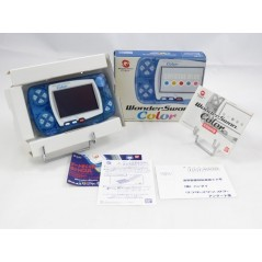 CONSOLE WONDERSWAN COLOR CRYSTAL BLUE JPN (MINT)