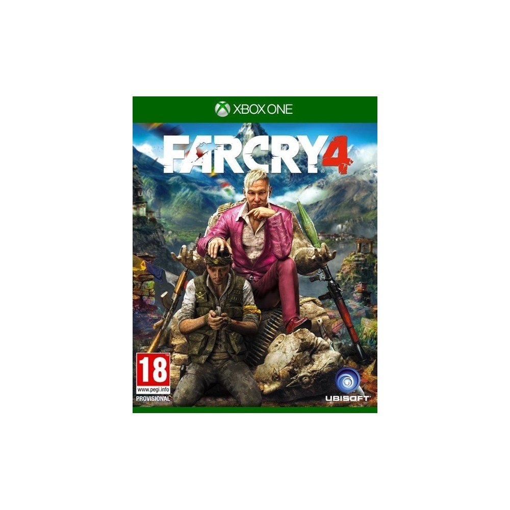 FAR CRY 4 EDITION DAY ONE XBOX ONE FR OCCASION