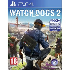 WATCH DOGS 2 PS4 UK OCCASION