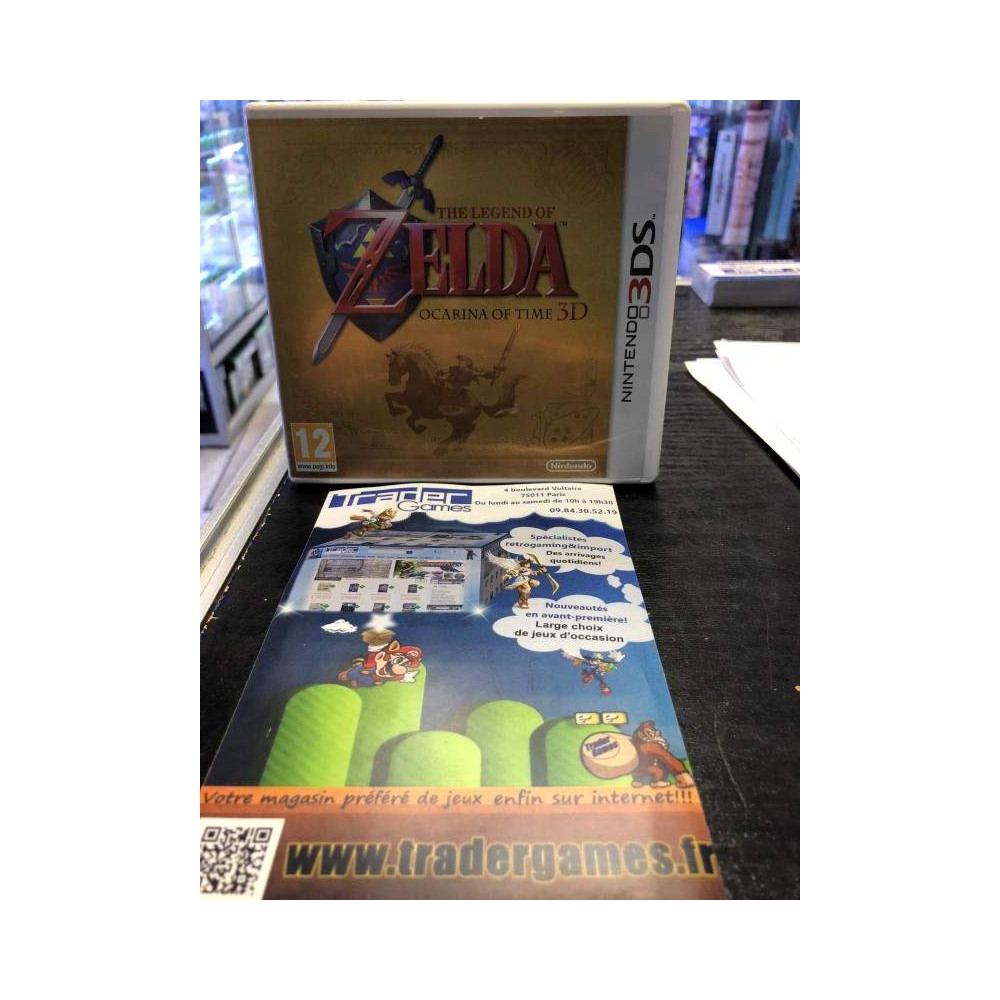 ZELDA OCARINA OF TIME LIMITED BOX 3DS FR OCCASION