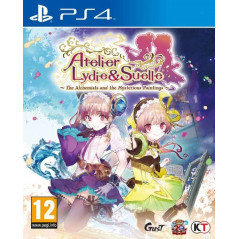 ATELIER LYDIE & SUELLE THE ALCHEMISTS AND THE MYSTERIOUS PAINTINGS PS4 FR NEW