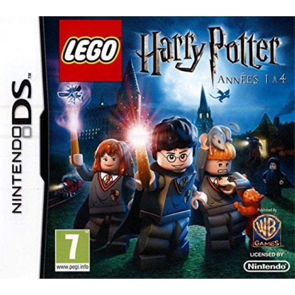 LEGO HARRY POTTER ANNEES 1 A 4 NDS FR OCCASION