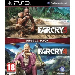 FAR CRY 3 + FAR CRY 4 DOUBLE PACK PS3 FR OCCASION