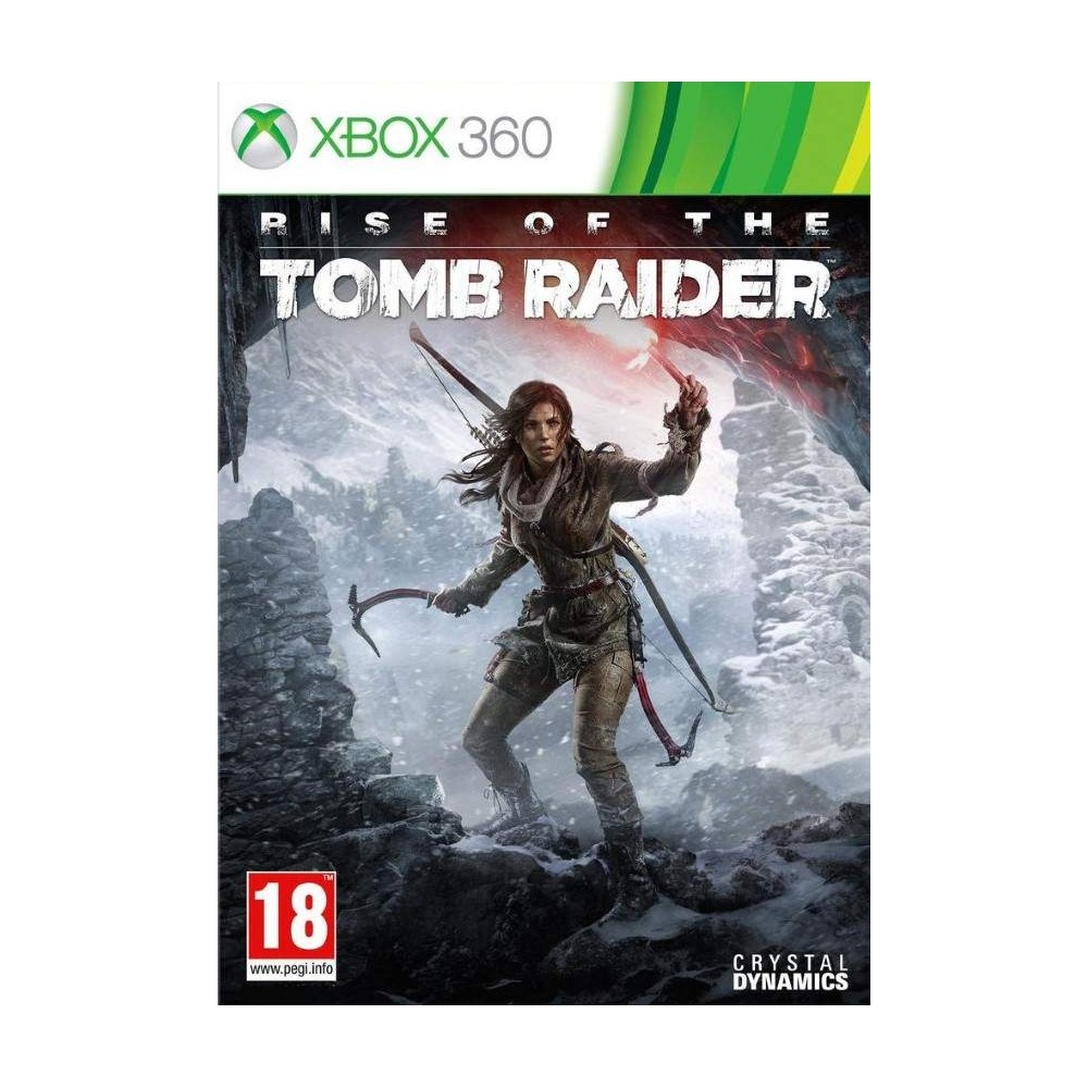 RISE OF TOMB RAIDER XBOX 360 PAL-FR OCCASION