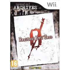 RESIDENT EVIL ZERO ARCHIVES WII PAL-FR OCCASION