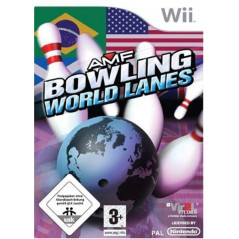 AMF BOWLING WORLD LANES WII PAL-EURO OCCASION
