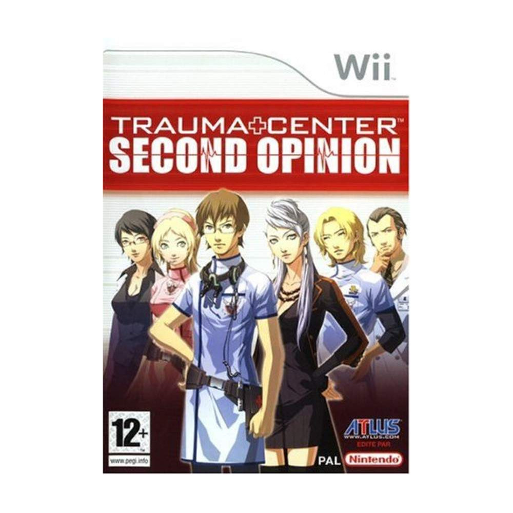 TRAUMA CENTER SECOND OPINION WII PAL-FRA OCCASION