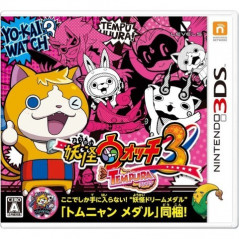 YOUKAI WATCH 3 TEMPURA 3DS JPN OCCASION