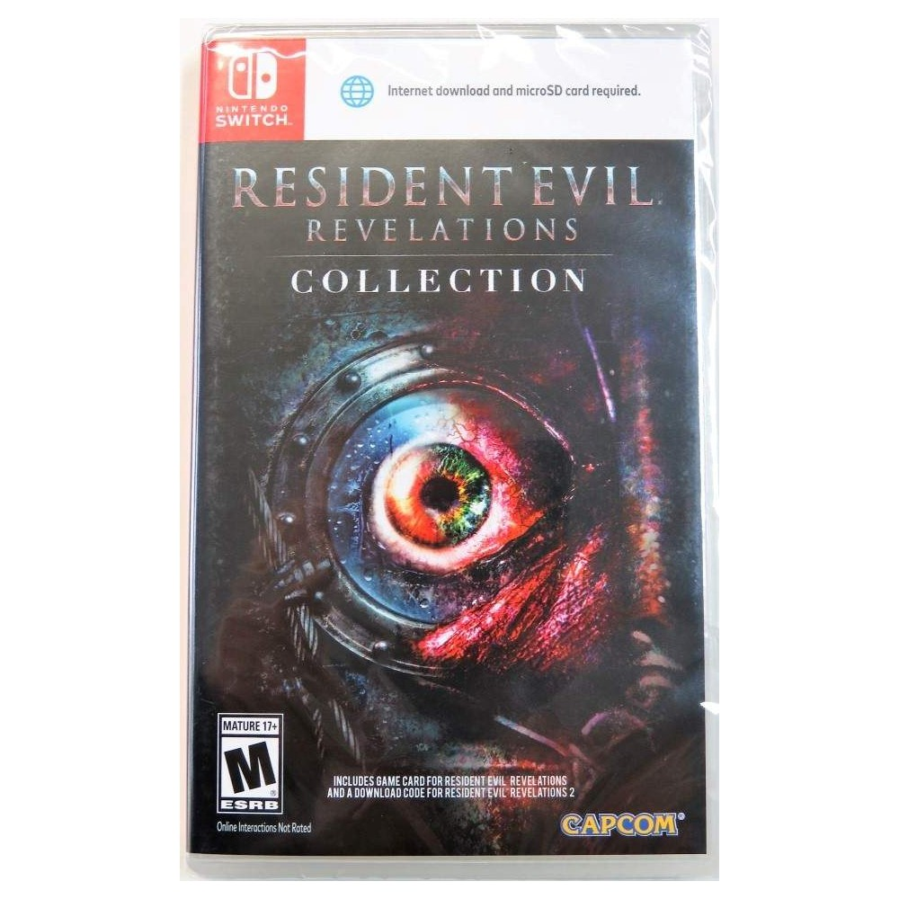 RESIDENT EVIL REVELATIONS COLLECTION SWITCH US OCCASION