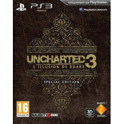 UNCHARTED 3: L ILLUSION DE DRAKE EDITION SPECIALE PS3 FR OCCASION