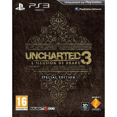 UNCHARTED 3: L'ILLUSION DE DRAKE EDITION SPECIALE PS3 FR OCCASION