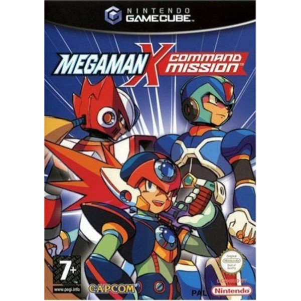 MEGAMAN X COMMAND MISSION GAMECUBE PAL-FAH OCCASION