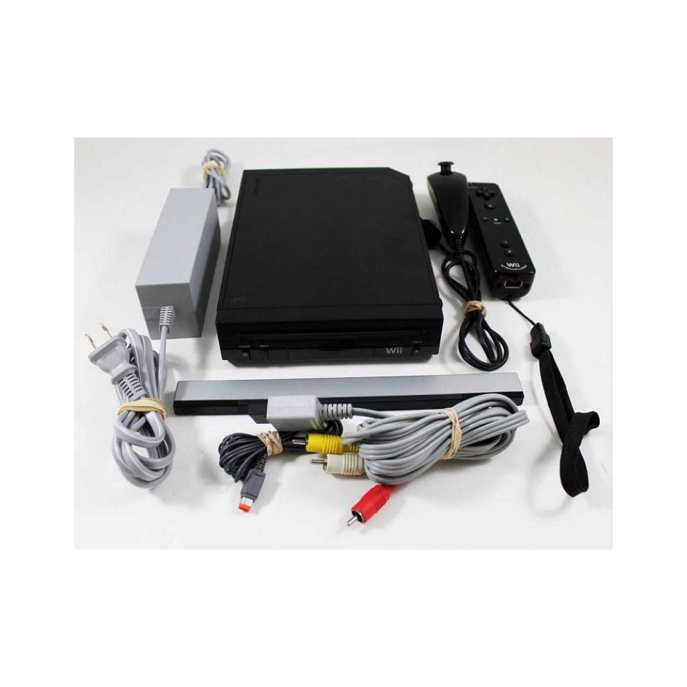 CONSOLE WII NOIRE PAL-EURO OCCASION