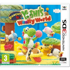 POOCHY & YOSHI S WOOLLY WORLD 3DS ANGLAIS OCCASION