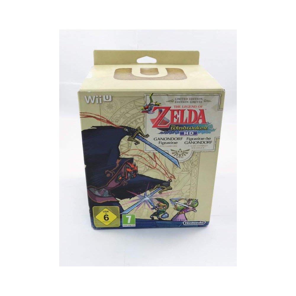 LEGEND OF ZELDA THE WINDWAKER HD COLLECTOR WIIU PAL-FR NEW