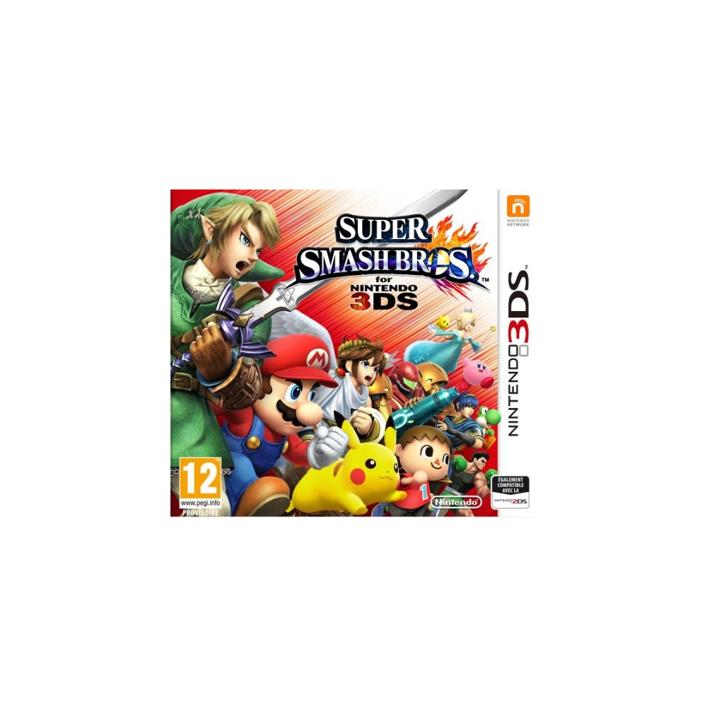 SUPER SMASH BROS 3DS UK NEW