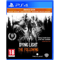 DYING LIGHT THE FOLLOWING ENHANCED EDITION PS4 EURO FR NEW