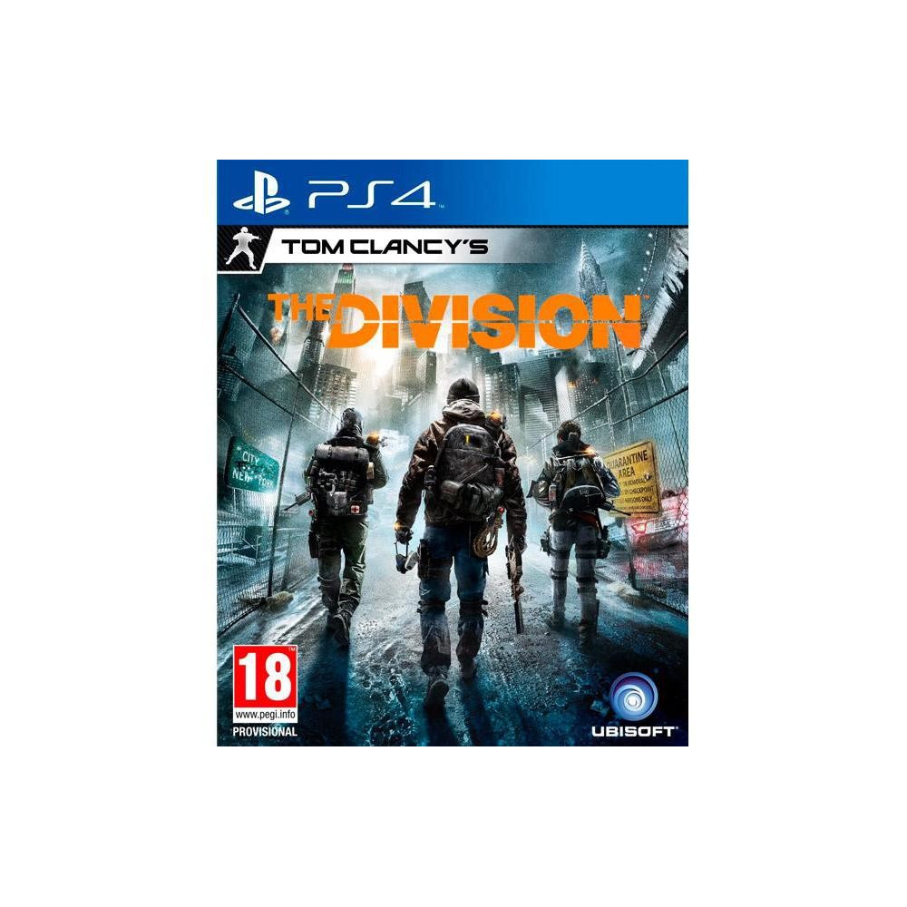 THE DIVISION PS4 MULTI OCC