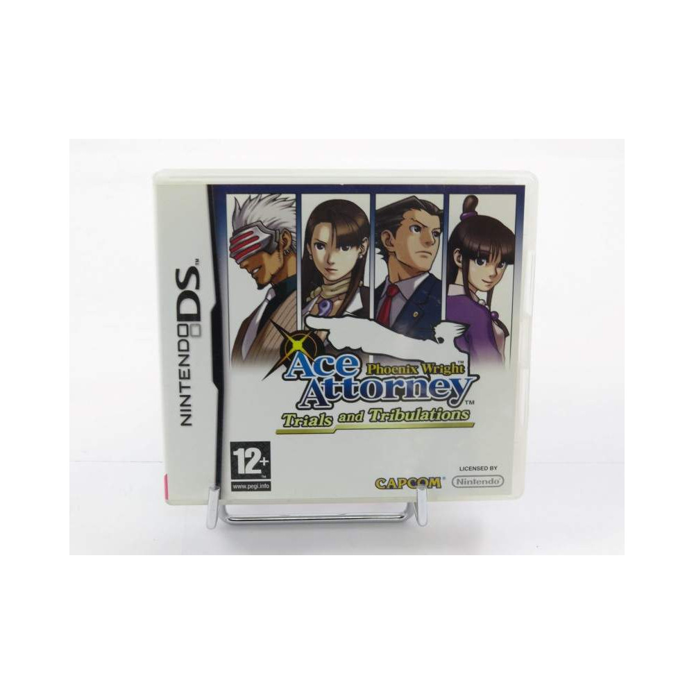 PHOENIX WRIGHT ACE ATTORNEY TRIALS AND TRIBULATIONS NDS FRA OCCASION