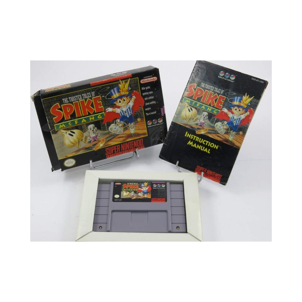 THE TWISTED TALES OF SPIKE MC FANG SNES NTSC-USA OCCASION