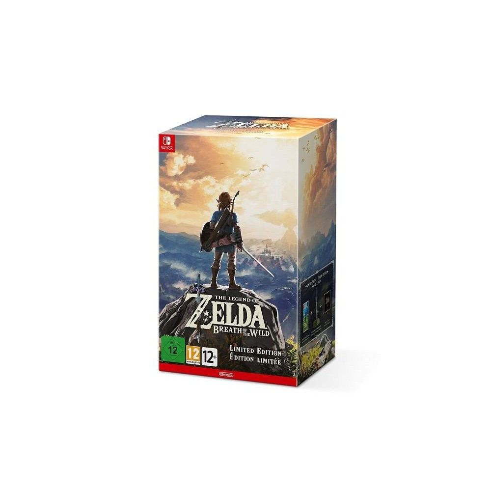 ZELDA BREATH OF THE WILD COLLECTOR SWITCH FRANCAIS OCCASION