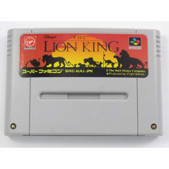 THE LION KING SFC NTSC-JPN LOOSE