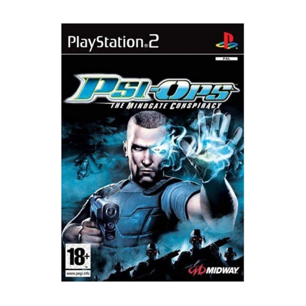 PSI OPS THE MINDGATE CONSPIRACY PS2 PAL-FR OCCASION