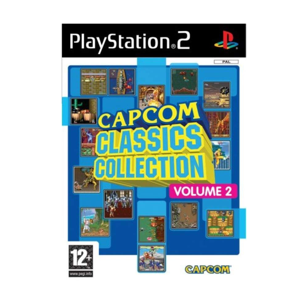 CAPCOM CLASSICS COLLECTION VOLUME 2 PS2 PAL-FR OCCASION
