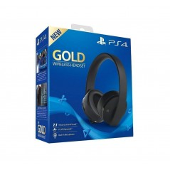 CASQUE PS4 OFFICIEL GOLD WIRELESS 7.1 EURO NEW