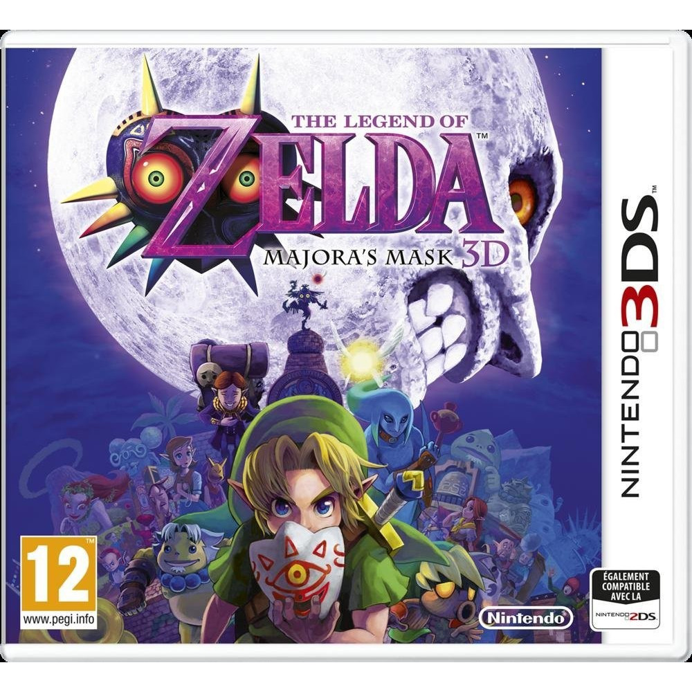 ZELDA MAJORA MASK 3DS UK OCCASION