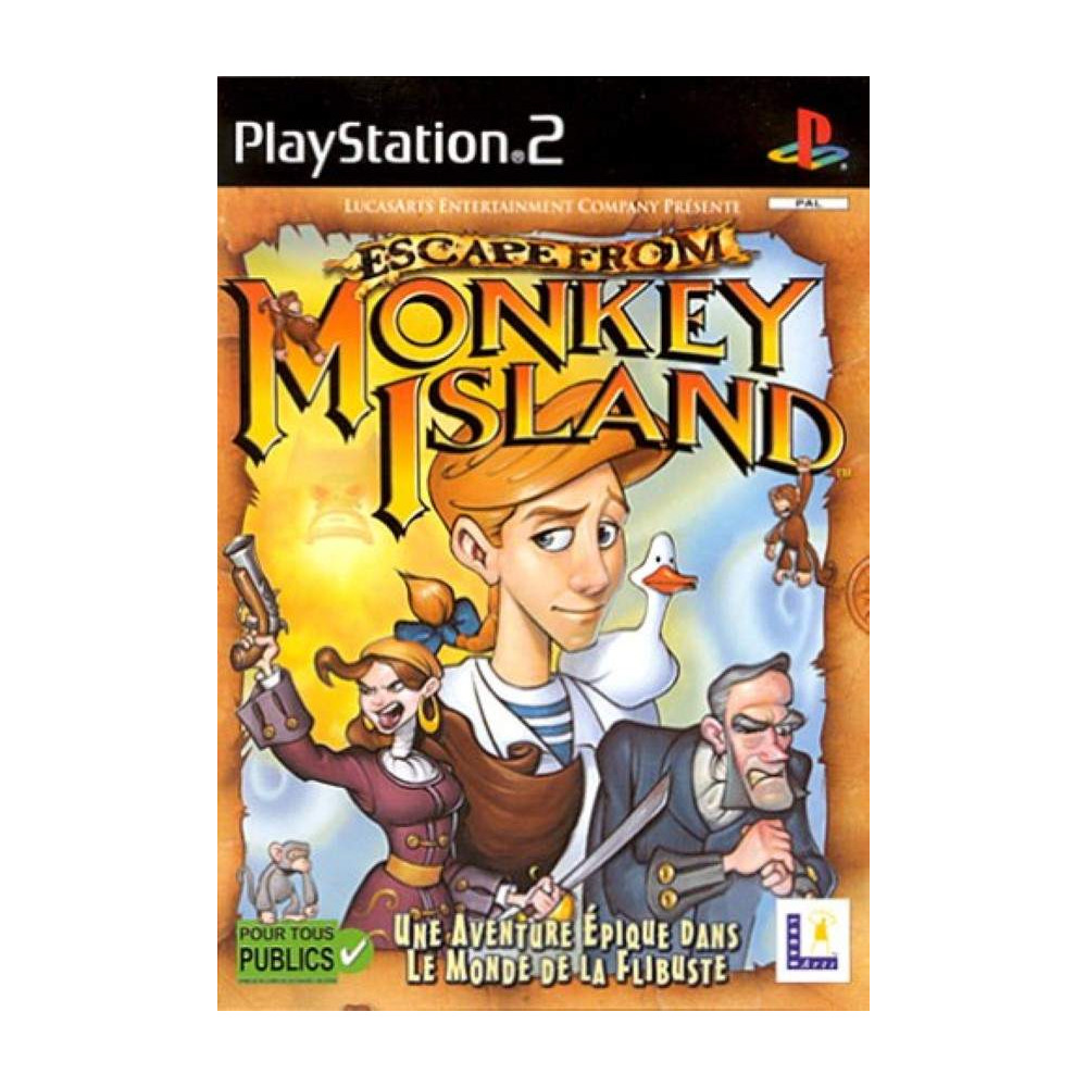 ESCAPE FROM MONKEY ISLAND PS2 PAL-FR OCCASION