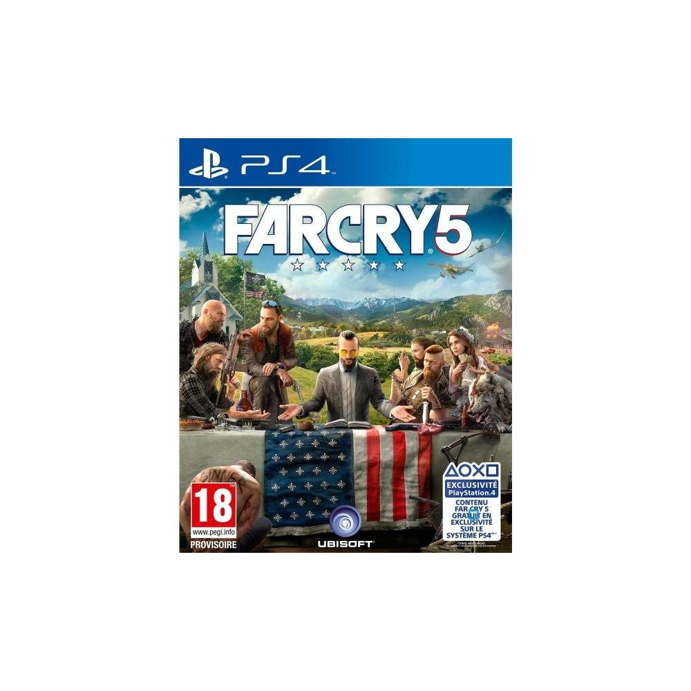 FARCRY 5 PS4 FR OCCASION